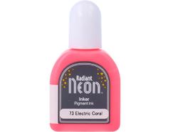TRN-73 Tinta RADIANT NEON color coral electrico opaca recarga Radiant neon