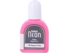 TRN-74 Tinta RADIANT NEON color rosado electrico opaca recarga Radiant neon
