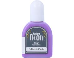 TRN-75 Tinta RADIANT NEON color morado electrico recarga opaca Radiant neon
