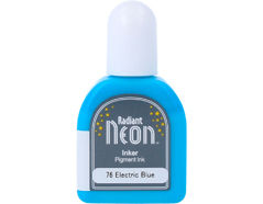 TRN-76 Tinta RADIANT NEON color azul electrico opaca recarga Radiant neon