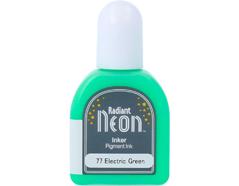TRN-77 Tinta RADIANT NEON color verde electrico opaca recarga Radiant neon