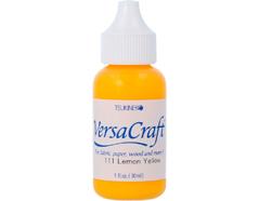 TRVK-111 Tinta VERSACRAFT para textil color amarillo limon recarga Versacraft