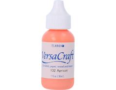 TRVK-132 Tinta VERSACRAFT para textil color albaricoque recarga Versacraft