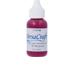 TRVK-161 Tinta VERSACRAFT para textil color bermellon recarga Versacraft