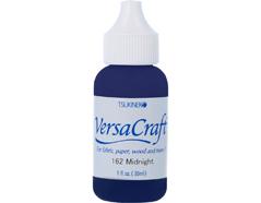 TRVK-162 Tinta VERSACRAFT para textil color medianoche recarga Versacraft