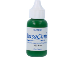 TRVK-165 Tinta VERSACRAFT para textil color pino recarga Versacraft