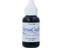 TRVK-182 Tinta VERSACRAFT para textil color negro real recarga Versacraft