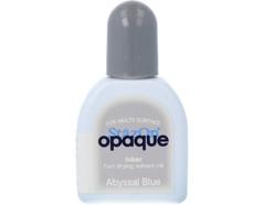 TRZ-158 Tinta STAZON OPAQUE para vidrio y plastico opaca color azul abisal recarga Stazon opaque
