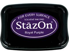 TSZ-101 Tinta STAZON para vidrio y plastico color morado real Stazon