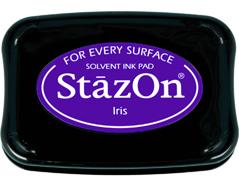 TSZ-11 Tinta STAZON para vidrio y plastico color flor de lis Stazon
