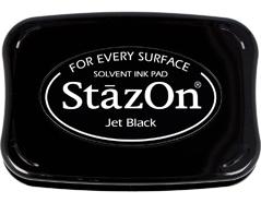 TSZ-31 Tinta STAZON para vidrio y plastico color negro jet Stazon