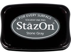 TSZ-32 Tinta STAZON para vidrio y plastico color gris piedra Stazon