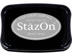 TSZ-33 Tinta STAZON para vidrio y plastico color gris paloma Stazon