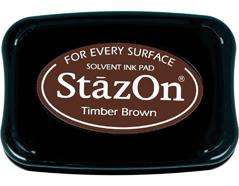 TSZ-41 Tinta STAZON para vidrio y plastico color marron madera Stazon
