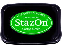 TSZ-52 Tinta STAZON para vidrio y plastico color verde cactus Stazon