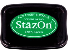 TSZ-53 Tinta STAZON para vidrio y plastico color verde eden Stazon