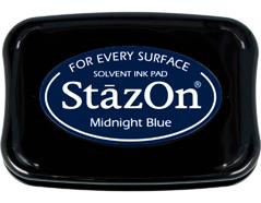 TSZ-62 Tinta STAZON para vidrio y plastico color azul noche Stazon