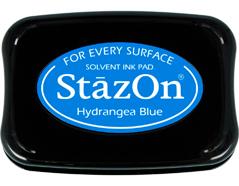 TSZ-64 Tinta STAZON para vidrio y plastico color azul hortensia Stazon