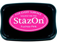 TSZ-82 Tinta STAZON para vidrio y plastico color rosa fucsia Stazon