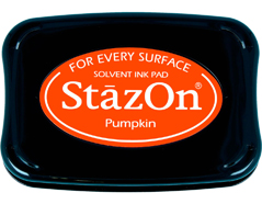 TSZ-92 Tinta STAZON para vidrio y plastico color calabaza Stazon