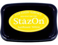 TSZ-93 Tinta STAZON para vidrio y plastico color amarillo girasol Stazon