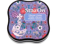 TSZ-MID-12 Tinta STAZON MIDI para vidrio y plastico color violeta intenso StazOn Midi
