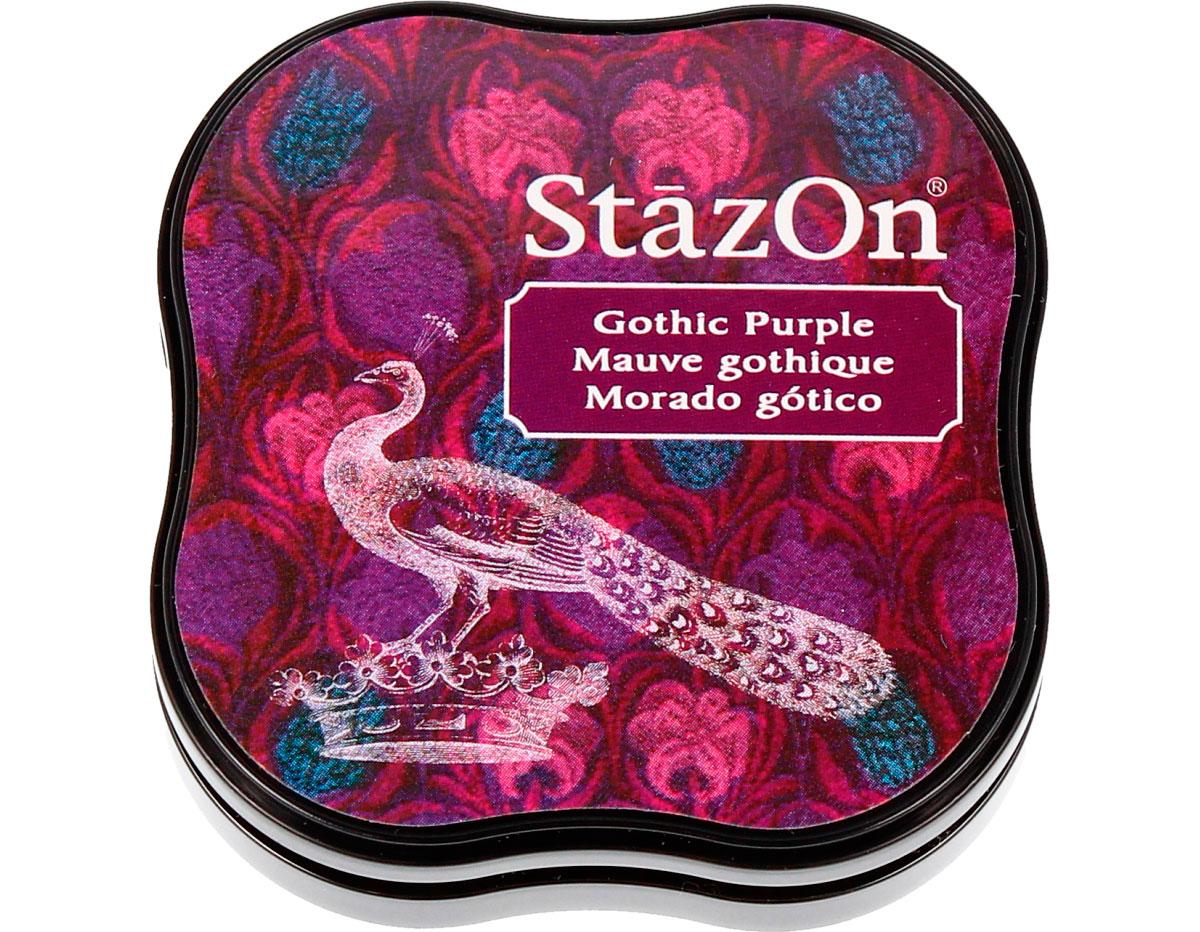 TSZ-MID-13 Tinta STAZON MIDI para vidrio y plastico color morado gotico StazOn Midi