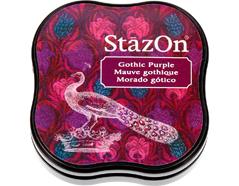TSZ-MID-13 Tinta STAZON MIDI para vidrio y plastico color morado gotico StazOn Midi - Ítem