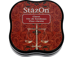 TSZ-MID-23 Tinta STAZON MIDI para vidrio y plastico color vino clarete StazOn Midi