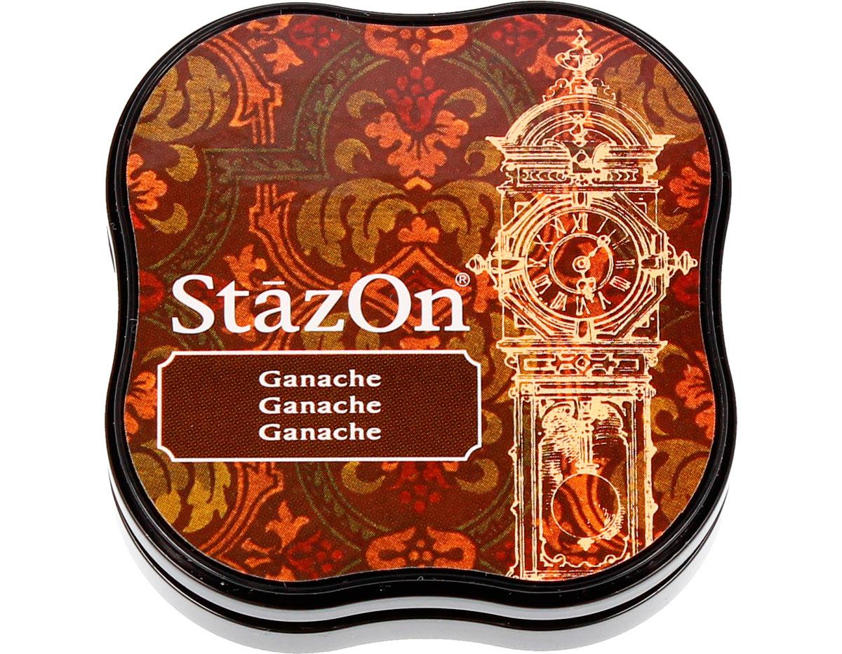 TSZ-MID-44 Tinta STAZON MIDI para vidrio y plastico color ganache StazOn Midi