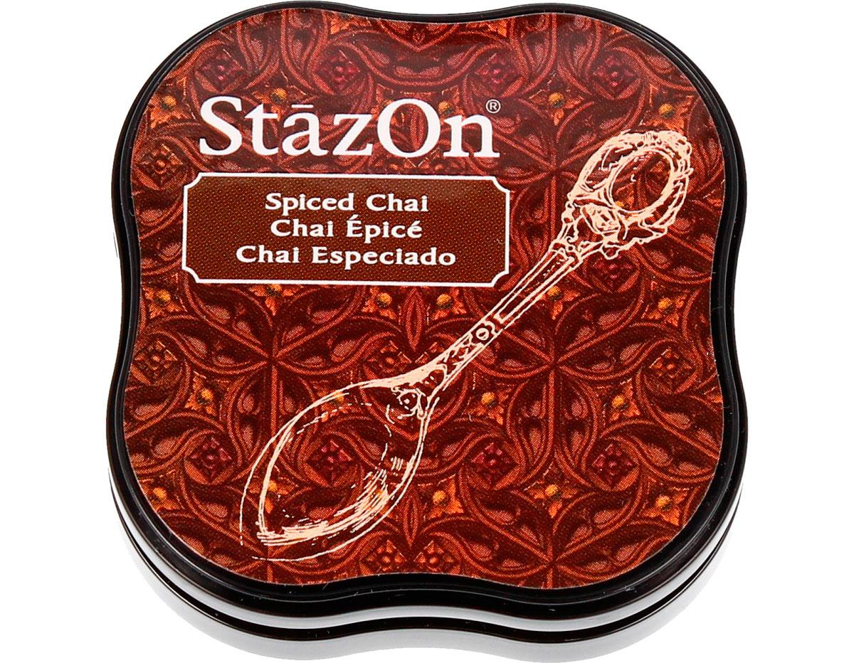TSZ-MID-45 Tinta STAZON MIDI para vidrio y plastico color chai especiado StazOn Midi