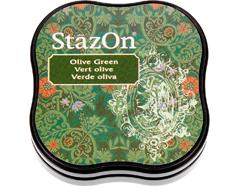TSZ-MID-51 Tinta STAZON MIDI para vidrio y plastico color verde oliva StazOn Midi