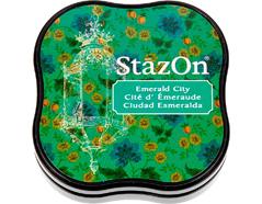 TSZ-MID-54 Tinta STAZON MIDI para vidrio y plastico color ciudad Esmeralda StazOn Midi