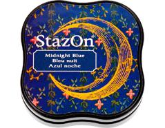 TSZ-MID-62 Tinta STAZON MIDI para vidrio y plastico color azul noche StazOn Midi