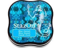 TSZ-MID-65 Tinta STAZON MIDI para vidrio y plastico color Hawai azul StazOn Midi