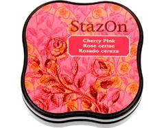 TSZ-MID-81 Tinta STAZON MIDI para vidrio y plastico color rosado cereza StazOn Midi