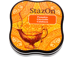 TSZ-MID-92 Tinta STAZON MIDI para vidrio y plastico color calabaza StazOn Midi