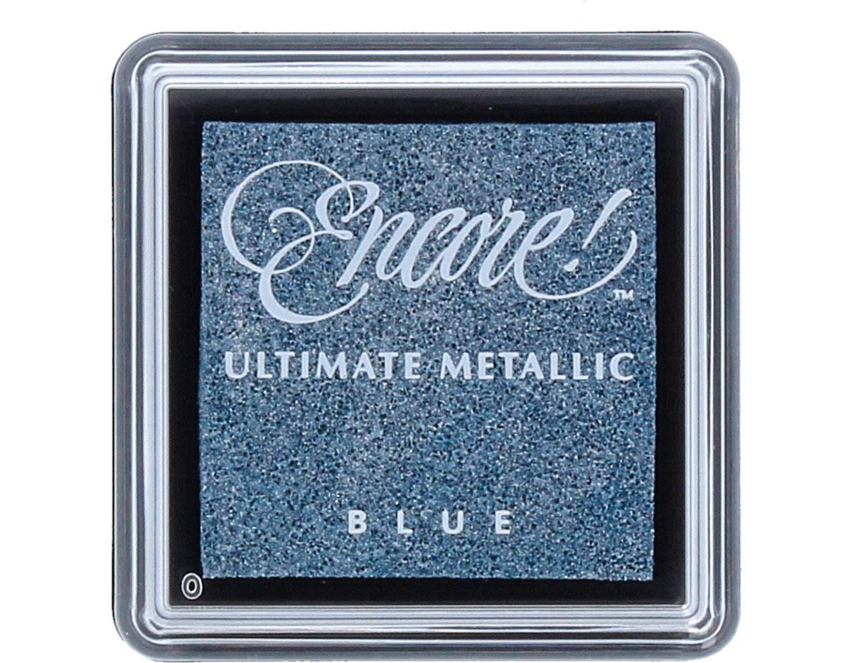 TUS-06 Tinta ENCORE color azul metalica brillante Tsukineko