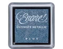 TUS-06 Tinta ENCORE color azul metalica brillante Tsukineko - Ítem