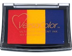 TVC3-307 Tinta VERSACOLOR 3 colores petardo opaca Versacolor
