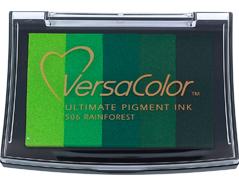 TVC5-506 Tinta VERSACOLOR 5 colores selva opaca Versacolor