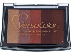 TVC5-508 Tinta VERSACOLOR 5 colores mocha trufado opaca Versacolor