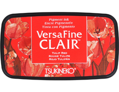 TVF-CLA-702 Tinta VERSAFINE CLAIR color rojo tulipan Versafine Clair