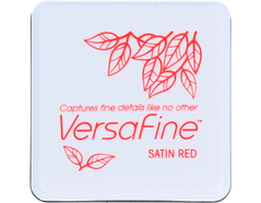 TVFS-10 Tinta VERSAFINE color rojo saten colores vintage Versafine