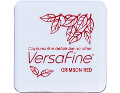 TVFS-11 Tinta VERSAFINE color rojo carmesi colores vintage Versafine