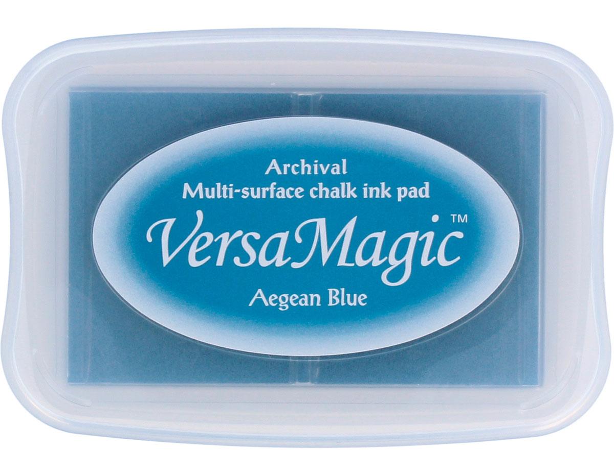 TVG-78 Tinta VERSAMAGIC color azul del mar Egeo efecto tiza Versamagic