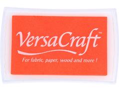TVK-112 Tinta VERSACRAFT para textil color tangerina Versacraft