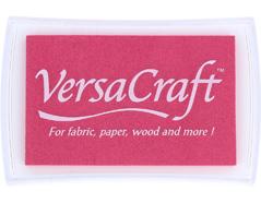 TVK-115 Tinta VERSACRAFT para textil color rosa cereza Versacraft