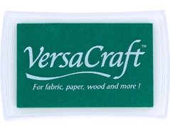 TVK-121 Tinta VERSACRAFT para textil color esmeralda Versacraft