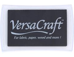 TVK-182 Tinta VERSACRAFT para textil color negro real Versacraft